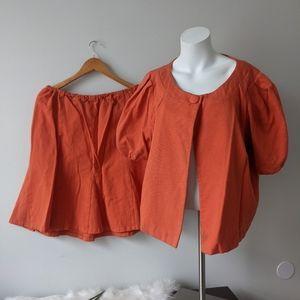 Ashley Stewart Sz 20W Blazer Sz 18W Skirt Suit